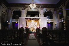 Magnificent Indian wedding ceremony mandap decor.