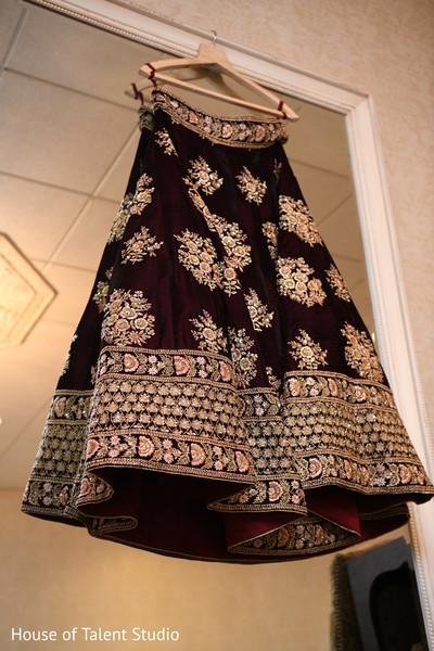 Stunning Indian bridal lehenga.