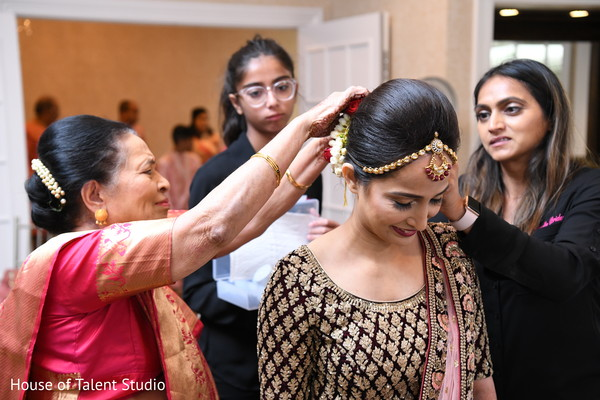 maharani,indian bridal ceremony fashion,bridal hair style