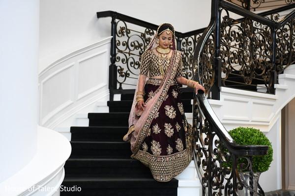maharani,indian wedding ceremony fashion,first look photography