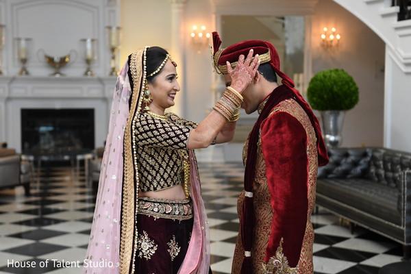 maharani,indian wedding ceremony fashion,first look photography,rajah