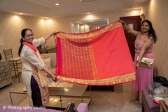 Wonderful Indian bridal ceremony dupatta.