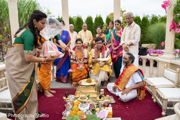 Magnificent Indian wedding ceremony.