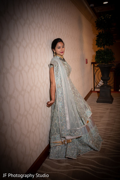 Maharanis wedding reception Anarkali.