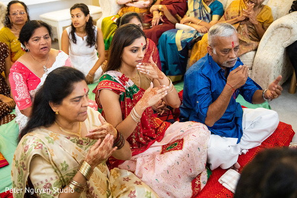 Incredible capture of pre-wedding rituals.