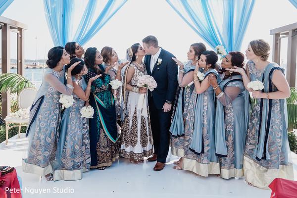 maharani,rajah,indian wedding ceremony fashion,indian bridesmaids