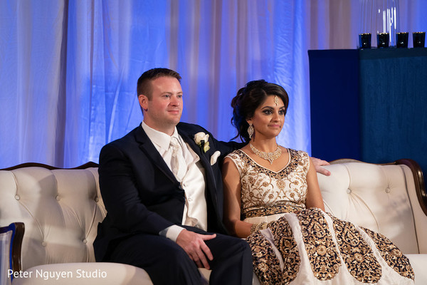 Take a look at this indian wedding reception.