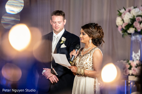 Indian bride speech moment.