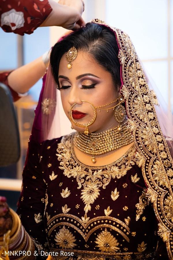 Marvelous Indian bridal Kundan choker set.