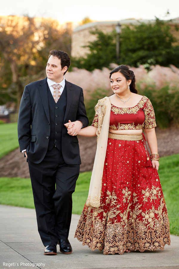 Beautiful picture of Indian lovebirds holding hands