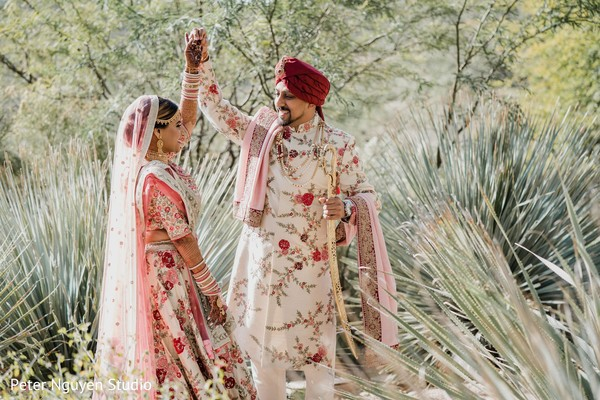 maharajah,maharani,indian wedding first look photography