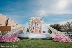 Glamorous Indian wedding ceremony  photo shoot