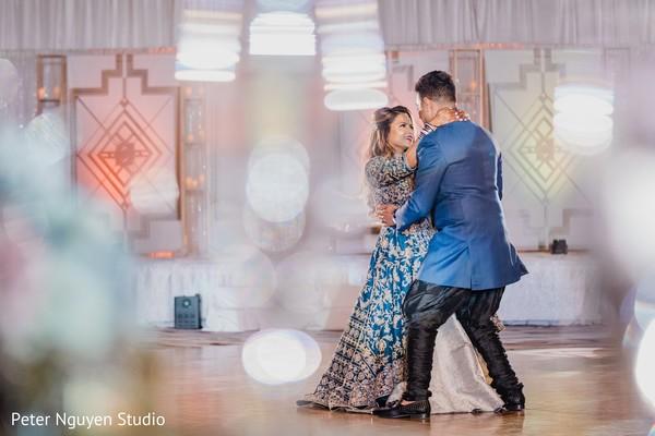 Splendid Indian wedding dance  capture.