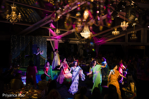 Overview of the Indian wedding reception