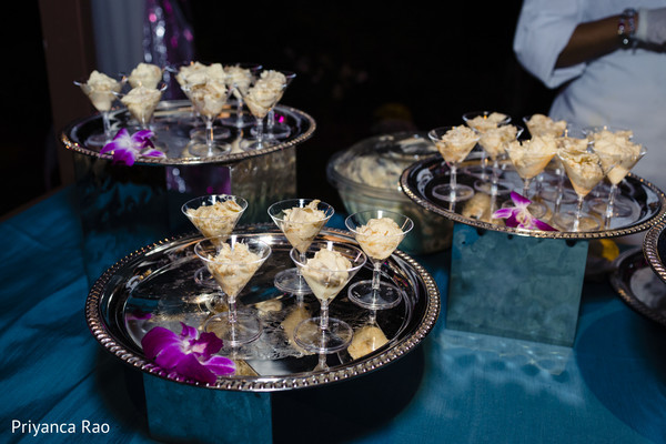Delicious treats for the Indian wedding guests