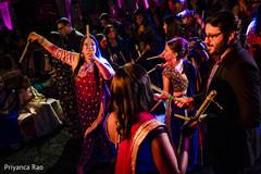 Capture of ravishing guests at the dance floor