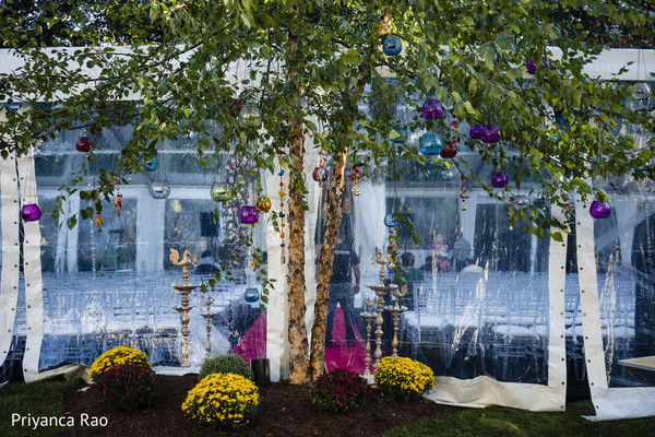 See this incredible decoration for the Indian wedding