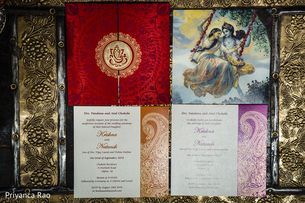 Amazing invitations for the Indian wedding