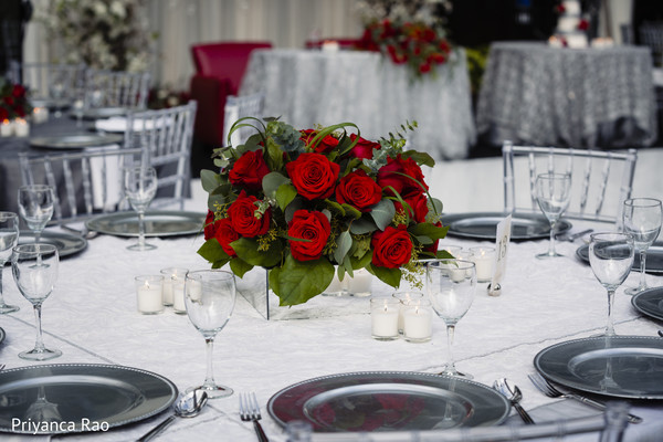 Table center piece design