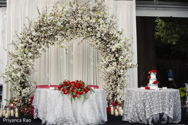 Indian wedding floral decor ideas