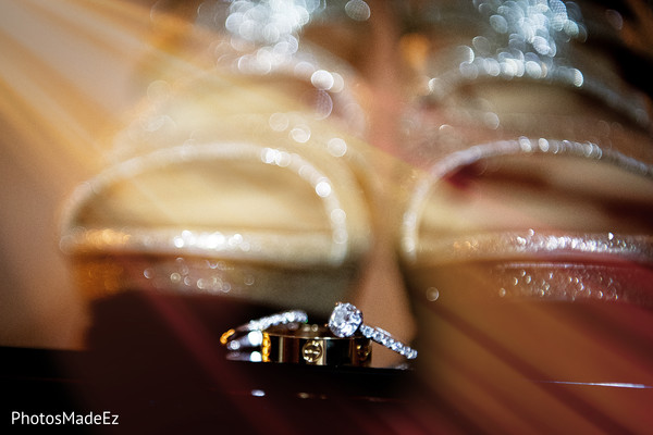 Stunning Indian wedding rings photo.