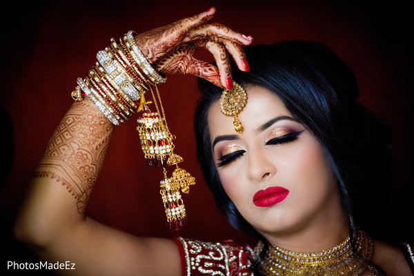 Incredible Maharani's ceremony jewelry capture.