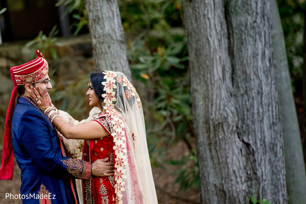 Indian couple first look