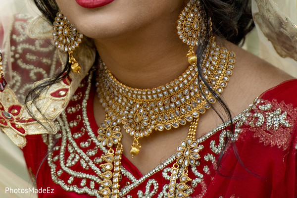Incredible Indian bridal polki necklace choker set.