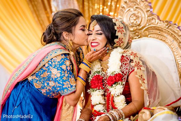 Lovely capture of maharani at ceremony.