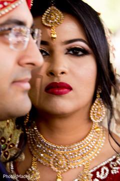 Marvelous Indian bride's capture.