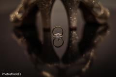 Incredible capture of Indian wedding rings.