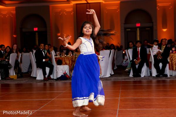 Lovely Indian wedding dancer.