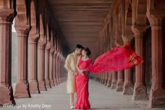 Talented capture of Maharani and Raja outdoors