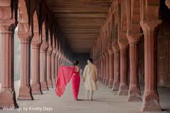Different angle of Maharani's lengha