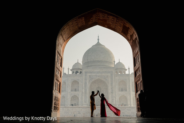 Amazing shot of Indian couple