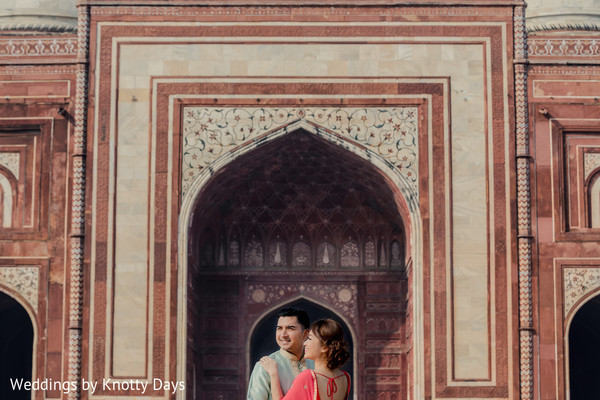 Ravishing couple posing for pictures