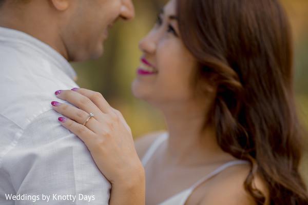 Maharani showing her wedding ring