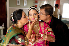 Lovely moment between Maharani and her family