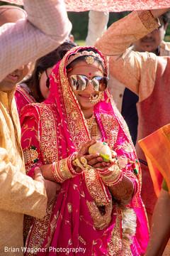 Stylish Maharani during her entrance