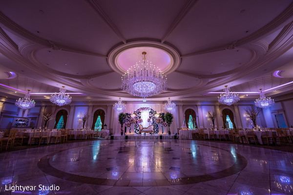 Magnificent Indian wedding lights decoration.