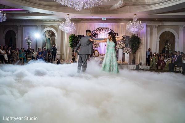 Romantic Indian wedding first dance.