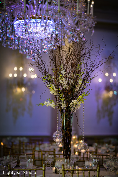 Incredible Indian wedding table decoration.