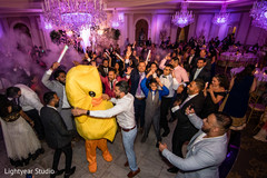 Upbeat Indian guest reception  celebration.