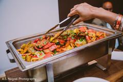 Indian wedding buffet capture.