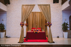 Enchanting Indian wedding reception table decoration.