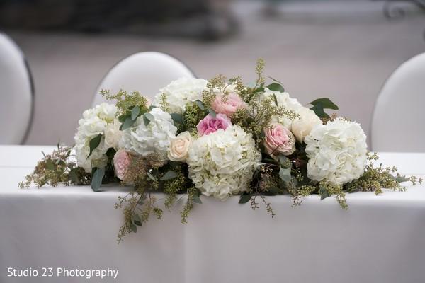 Ideas for the floral arrangement