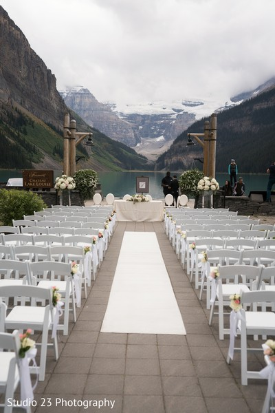 Beautiful venue ready for the ceremony
