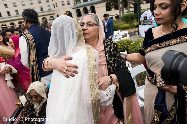 Emotional moment between guests and Maharani