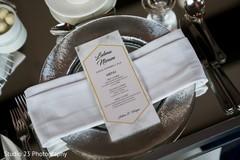 Menu design ideas for the reception