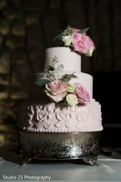 See this delicious cake ready for guests